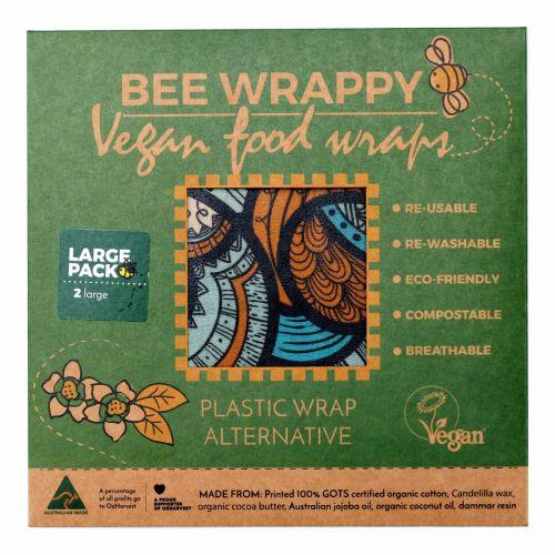Vegan Wraps Large 2 Pack
