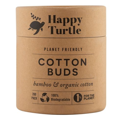 Cotton Bamboo Buds 200 Pack Tub