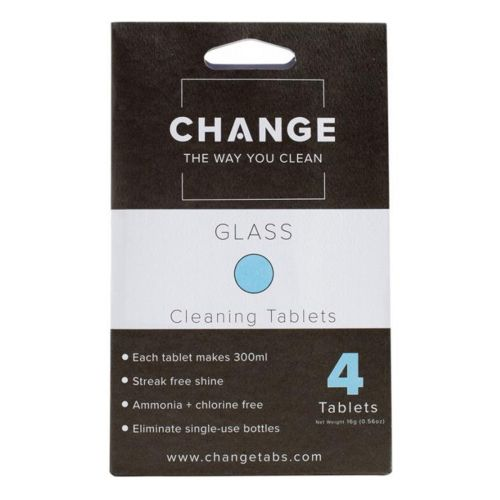 Glass Cleaning 4 Tablets