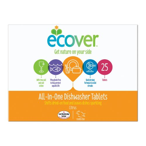 All In One Dishwashing Tablets - 500g