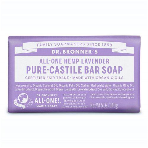 Lavender Pure Castile Bar Soap 140g