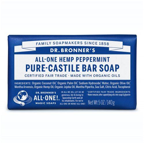 Peppermint Castile Bar Soap 140g