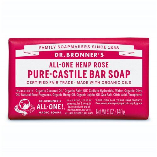 Rose Pure Castile Bar Soap 140g