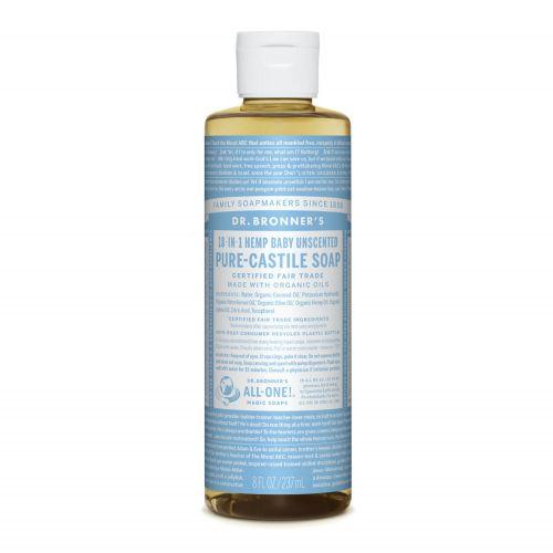 Baby Unscented Castile Liquid Soap 237ml