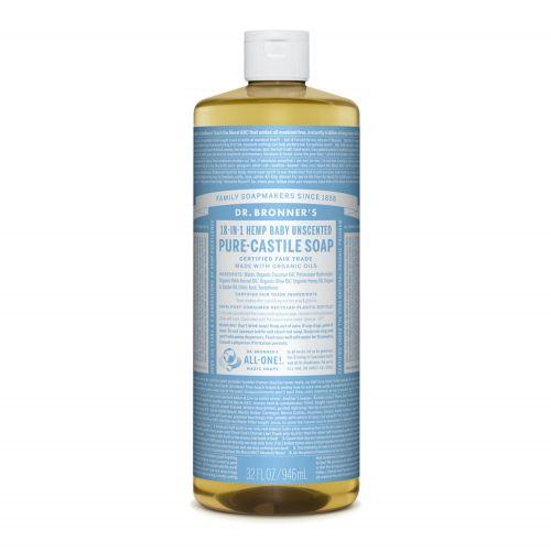Baby Unscented Castile Liquid Soap 946ml