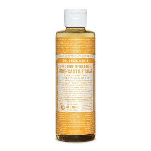 Citrus Orange Castile Liquid Soap 237ml