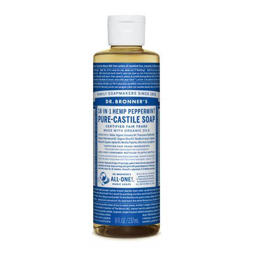 Peppermint Castile Liquid Soap 237ml