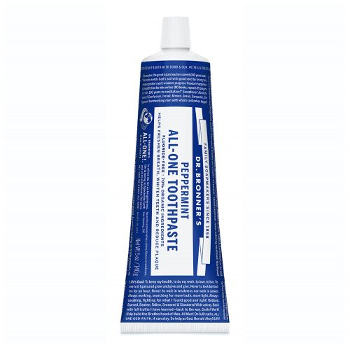 Peppermint All One Toothpaste - 140g