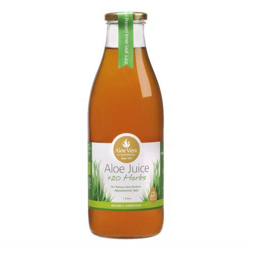 Aloe Vera Juice + 20 Herbs - 1L