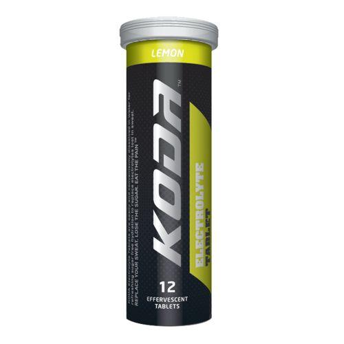 Electrolyte Effervescent Lemon Tablets - 12 Tablets
