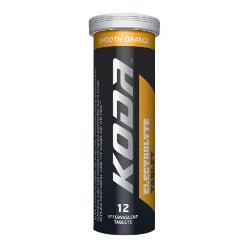 Electrolyte Effervescent Orange Tablets - 12 Tablets
