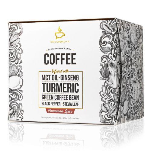 Cinnamon Spice High Performance Coffee Blend 30 Sachets