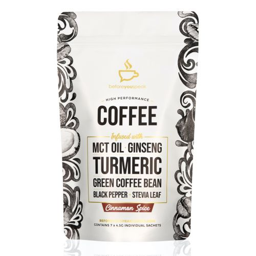 Cinnamon Spice High Performance Coffee Blend 7 Sachets