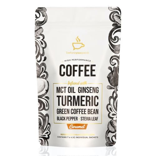 Caramel High Performance Coffee Blend 7 Sachets