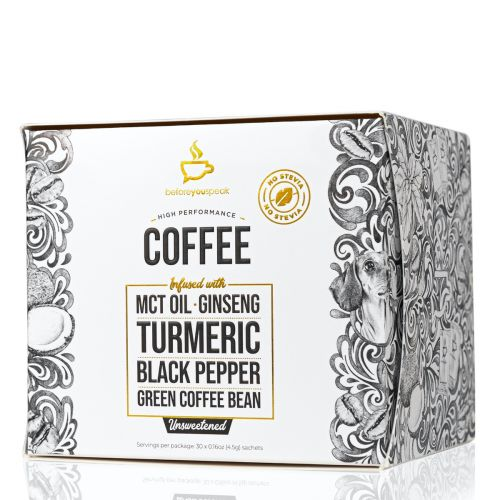 Unsweetened High Performance Coffee Blend 30 Sachets