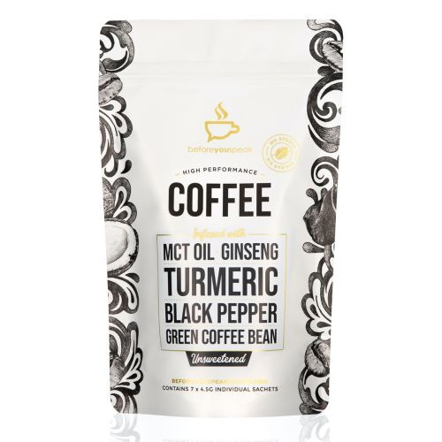 Unsweetened High Performance Coffee Blend 7 Sachets