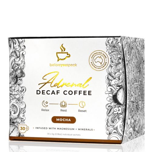 Adrenal Reset Decaf Coffee Mocha 30 Sachets