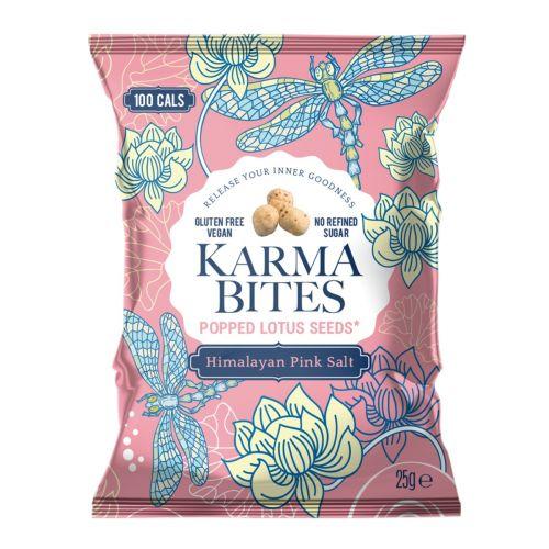 Popped Lotus Seeds Pink Salt 25g