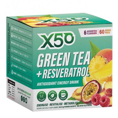 Green Tea Assorted 6 Flavour 60 serves