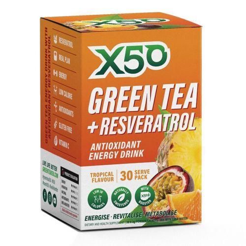 Green Tea Tropical 30 serves