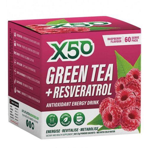 Green Tea Raspberry 60 serves