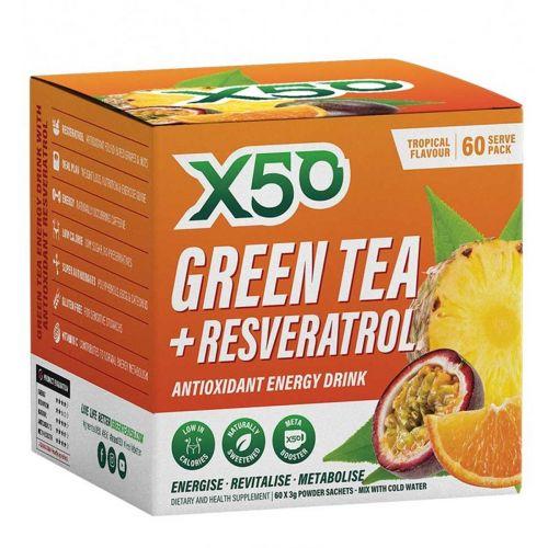 Green Tea Tropical 60 serves