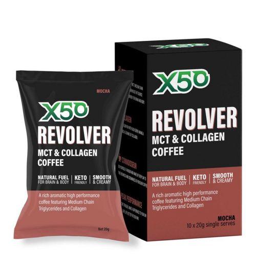 Revolver Coffee MCT & Collagen Mocha 10 serves
