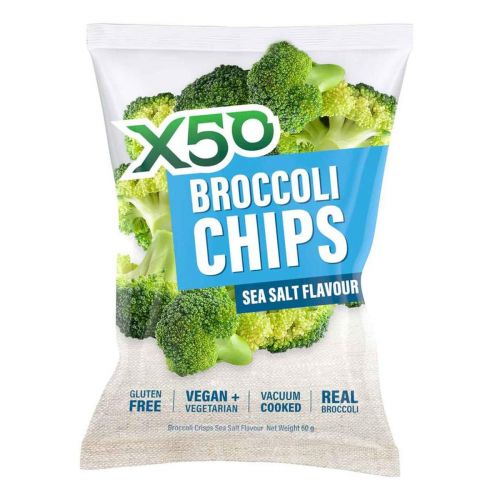 Broccoli Chips Sea Salt 60g