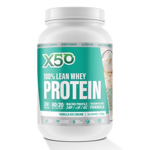 Whey Protein Vanilla Ice Cream 1.05kg 30 Serves