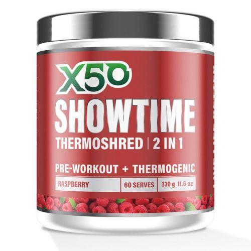 Showtime Thermoshred Raspberry 60 Serves