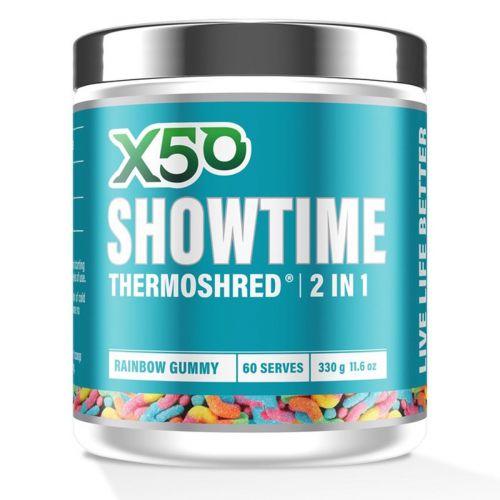 Showtime Thermoshred Sour Gummy 60 Serves
