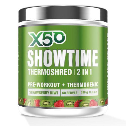 Showtime Thermoshred Strawberry Kiwi 60 Serves