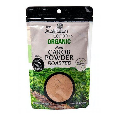 Pure Raw Roasted Carob Powder - 200g