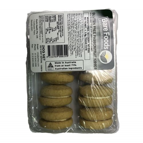 Passionfruit Kisses Biscuits - 240g