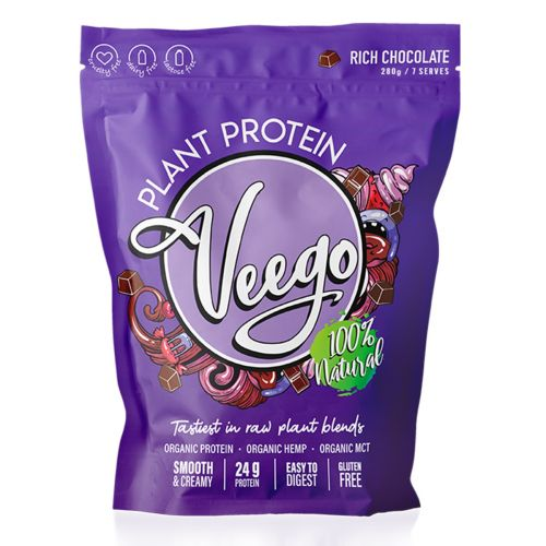Plant Protein Rich Chocolate 280g 7 Serves