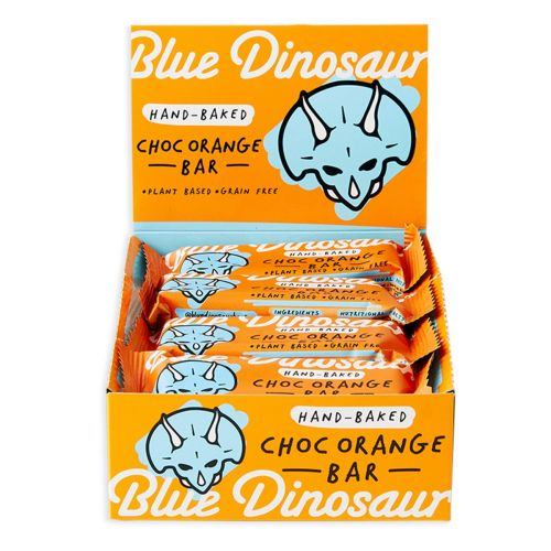 Chocolate Orange Snack Bars - 12 x 45g