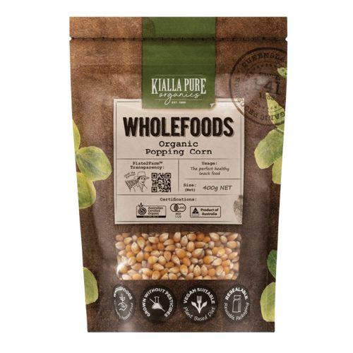 Organic Popcorn - 400g
