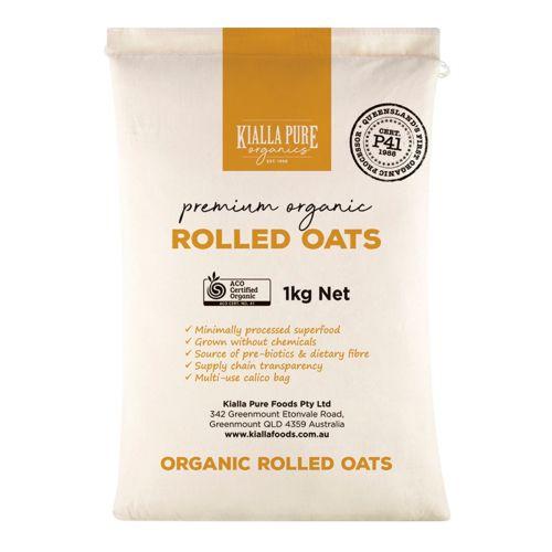 Organic Rolled Oats - 1kg