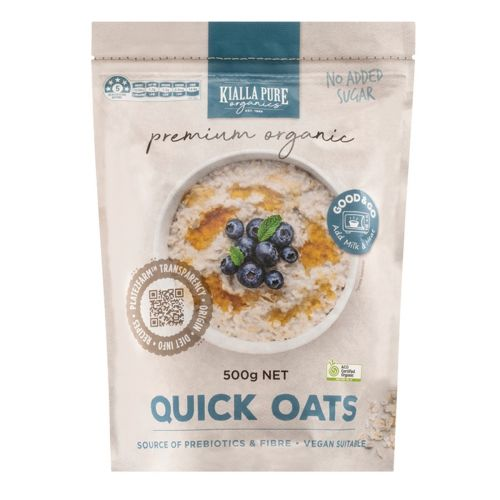Organic Quick Oats - 500g