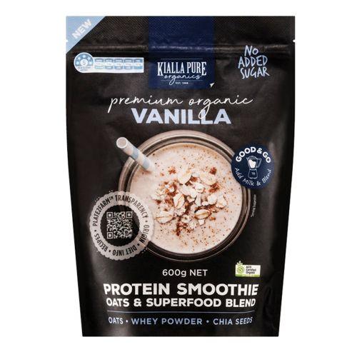 Organic Protein Smoothie Vanilla - 600g