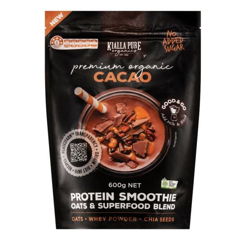 Organic Protein Smoothie Cacao - 600g