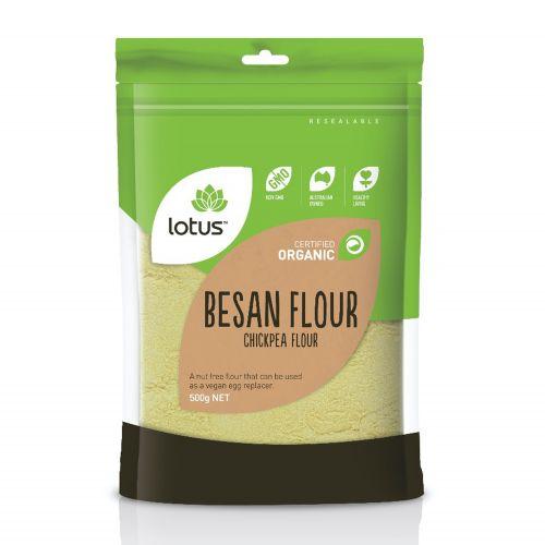 Organic Chick Pea Besan Flour - 500g