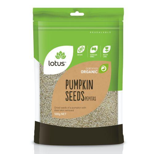 Organic Pumpkin Seed Pepitas - 500g