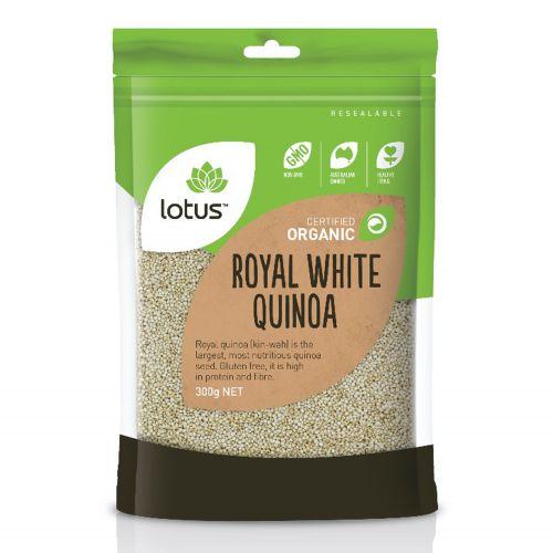 Organic Royal White Quinoa - 300g