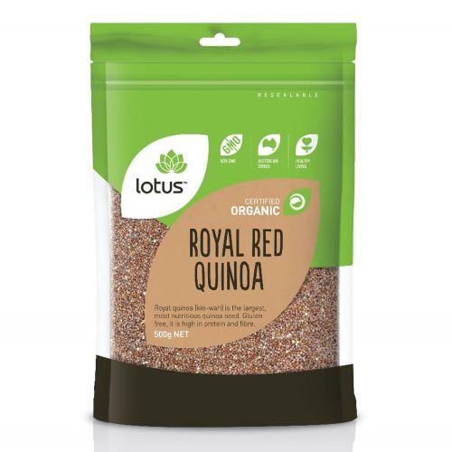 Organic Royal Red Quinoa - 500g
