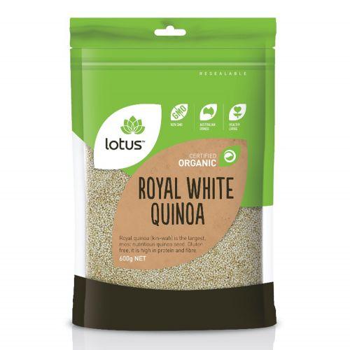 Organic Royal White Quinoa - 600g
