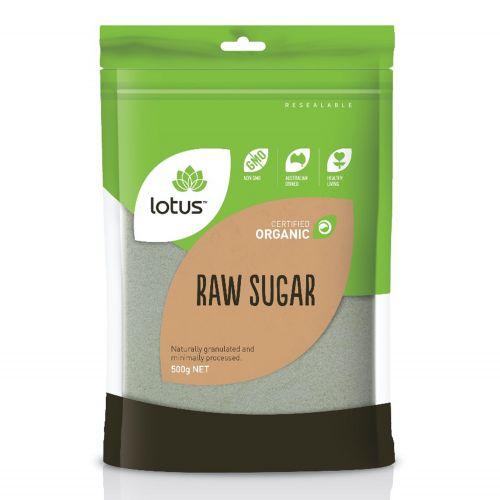 Organic Raw Sugar - 500g