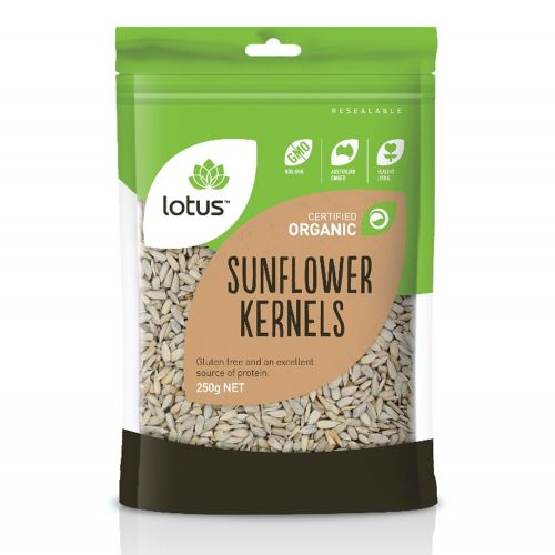 Organic Sunflower Kernals (No Husk) - 250g