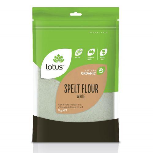 Organic White Spelt Flour - 1kg
