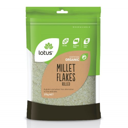 Organic Rolled Millet Flakes - 375g